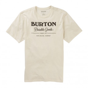 Go to the product T-shirt Burton Durable Goods Ss stout white 2020/2021
