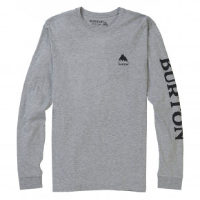 Go to the product T-shirt Burton Elite LS grey heather 2018/2019