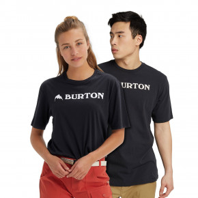 Go to the product T-shirt Burton Horizontal Mountain Ss true black 2020/2021