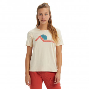 Go to the product T-shirt Burton Wms Classic Retro Ss creme brulee 2020