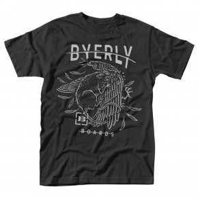 Go to the product T-shirt Byerly Halfway black 2018