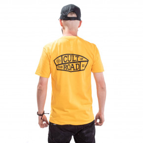 Go to the product T-shirt Cult Of The Road Gas yellow 2019