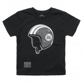 Go to the product T-shirt Cult Of The Road Helmet Kiddo black 2019