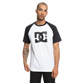 Go to the product T-shirt DC Star SS Raglan black/ snow white 2018