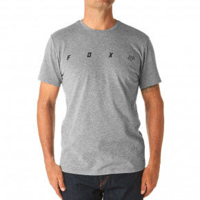 Go to the product T-shirt Fox Agent SS Airline heather dark grey 2018