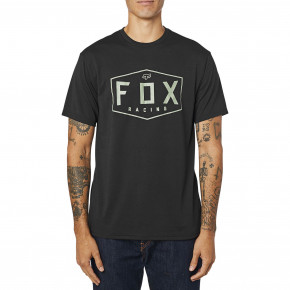 Go to the product T-shirt Fox Crest Tech Tee black/green 2020