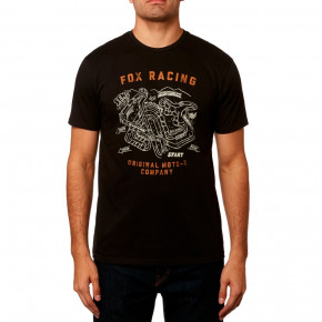 Go to the product T-shirt Fox Fast Track black 2019