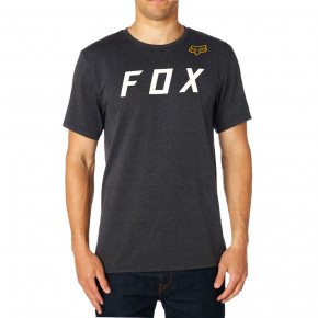 Prejsť na produkt Tričko Fox Grizzled Ss Tech Tee heather black 2018