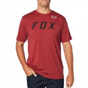 Přejít na produkt Tričko Fox Grizzled SS Tech Tee heather red 2018