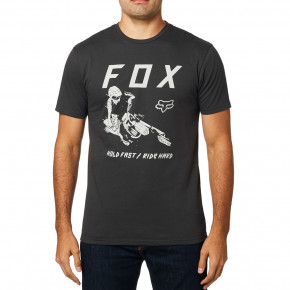 Go to the product T-shirt Fox Hold Fast Premium black vintage 2019