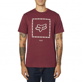Go to the product T-shirt Fox Missing Link Tech Tee cranberry 2020
