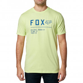 Go to the product T-shirt Fox Non Stop lime 2020
