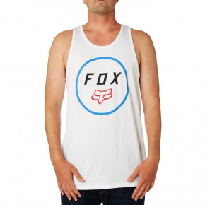 Go to the product T-shirt Fox Settled Premium Tank optic white 2018