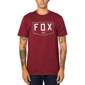 Go to the product T-shirt Fox Shield Premium cranberry 2020