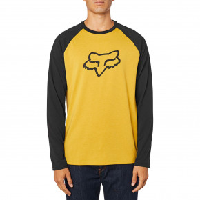 Go to the product T-shirt Fox Tournament Ls Tech Tee mustard 2020