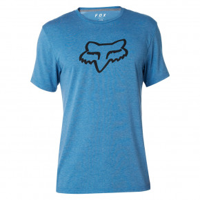 Přejít na produkt Tričko Fox Tournament SS Tech Tee heather blue 2018
