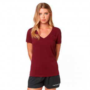 Go to the product T-shirt Fox Tracker V Neck cranberry 2019