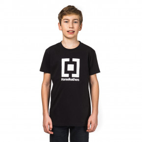 Go to the product T-shirt Horsefeathers Base Kids black 2018