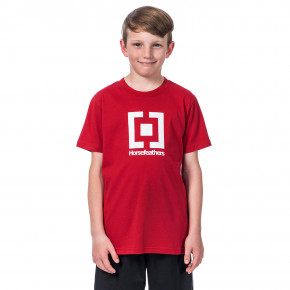 Go to the product T-shirt Horsefeathers Base Youth lava red 2020