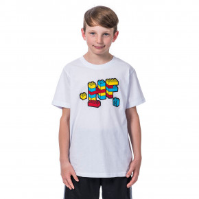 Go to the product T-shirt Horsefeathers Bricks Youth white 2020