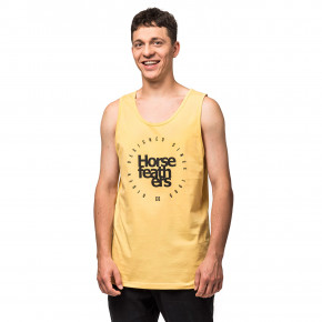 Go to the product T-shirt Horsefeathers Emblem Tank buff yellow 2019