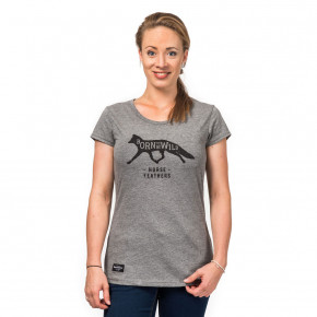 Go to the product T-shirt Horsefeathers Esta heather grey 2017/2018