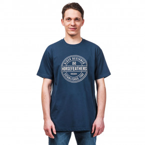Go to the product T-shirt Horsefeathers Hallmark indigo 2019