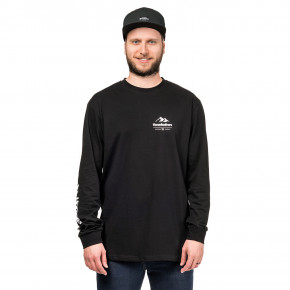 Go to the product T-shirt Horsefeathers Kent LS black 2018/2019