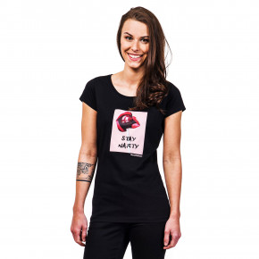 Go to the product T-shirt Horsefeathers Lollipop black 2019