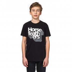 Go to the product T-shirt Horsefeathers Perspective Kids black 2018