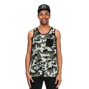 Go to the product T-shirt Horsefeathers Poker Tank camo 2017