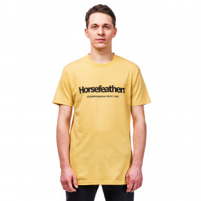 Go to the product T-shirt Horsefeathers Quarter buff yellow 2019
