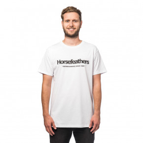 Go to the product T-shirt Horsefeathers Quarter white 2019/2020