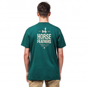 Go to the product T-shirt Horsefeathers Spigot bistro green 2019