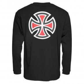 Go to the product T-shirt Independent Bar Cross L/s black 2020