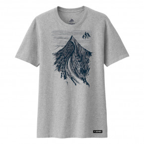 Prejsť na produkt Tričko Jones Dream Peak grey heather 2019