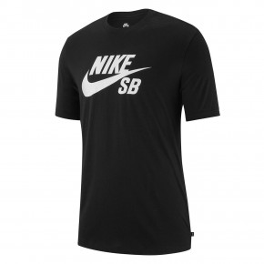 Go to the product T-shirt Nike SB Dry Dfct black/white 2020
