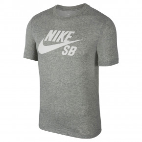 Go to the product T-shirt Nike SB Dry Dfct dk grey heather/white 2019