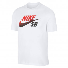Go to the product T-shirt Nike SB Dry Dfct white/black/university red 2019
