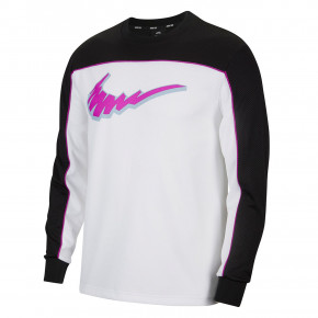Go to the product T-shirt Nike SB Dry Ls Top black/white/vivid purple/vivid p 2020