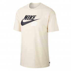 Go to the product T-shirt Nike SB Logo fossil/black 2020