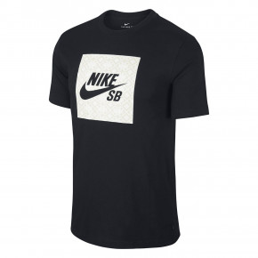 Go to the product T-shirt Nike SB Logo Nomad black 2019