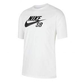 Go to the product T-shirt Nike SB Logo white/black 2020