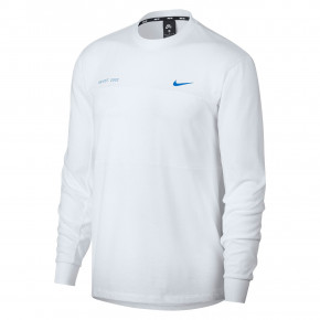 Go to the product T-shirt Nike SB Mesh Ls white/photo blue 2019