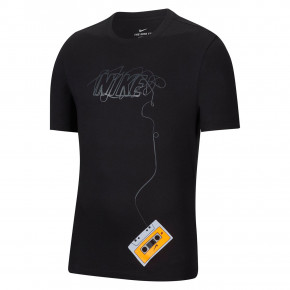 Go to the product T-shirt Nike SB Pls Rewind black/black 2020
