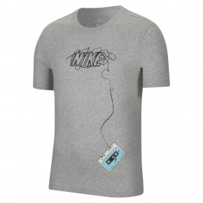 Go to the product T-shirt Nike SB Pls Rewind dk grey heather/black 2020