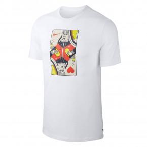 ad73c5d44256 Přejít na produkt Tričko Nike SB Queen Card white habanero red 2019
