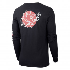 Go to the product T-shirt Nike SB Roses LS black/white 2018
