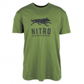 Go to the product T-shirt Nitro Lobos chive 2018/2019