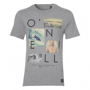Go to the product T-shirt O'Neill Neos silver melee 2018